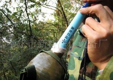 个人过滤户外生存吸管的性能特点